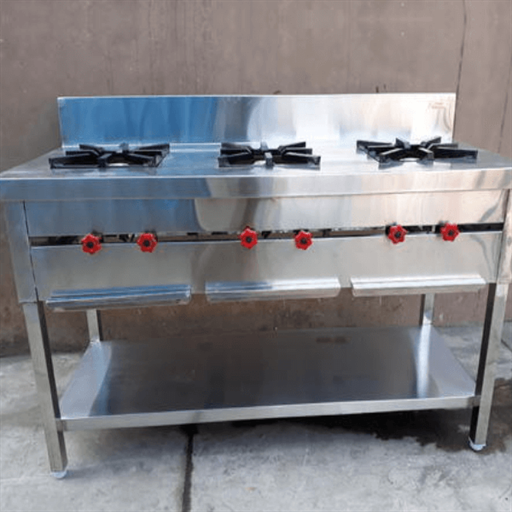 Indian Cooking Range Three Burner