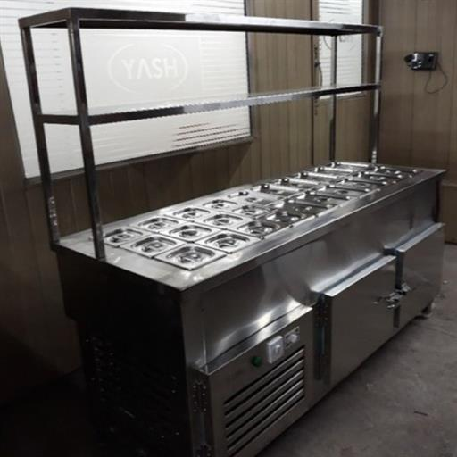 Cold Bain Marie Service Counter