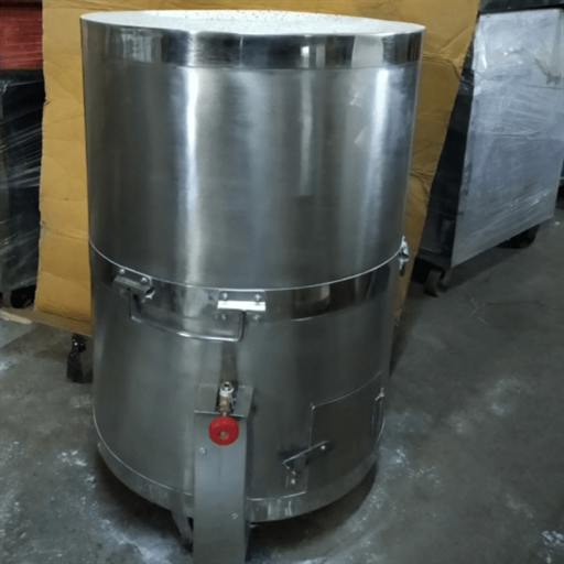 Stainless Steel Drum Tandoor & Operating Gas System