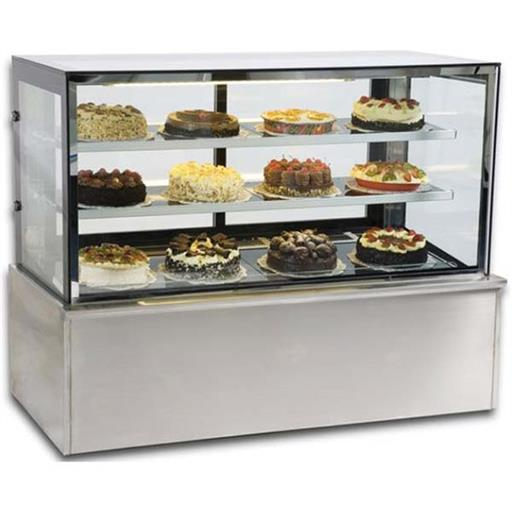 Glass And SS Cake Display Counter