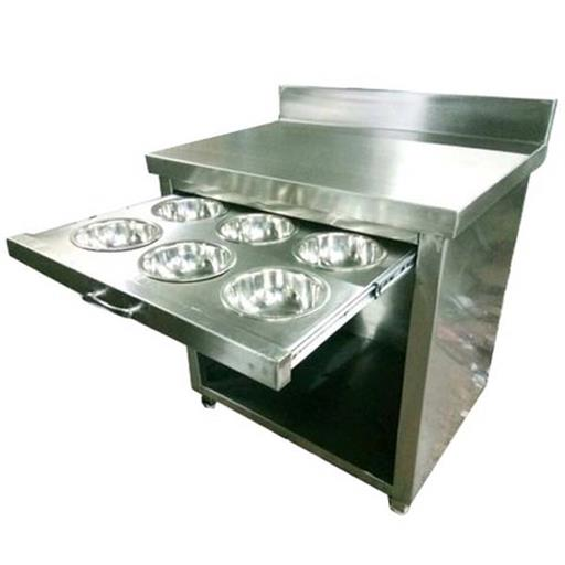 Ss Stainless Steel Masala Tray Table