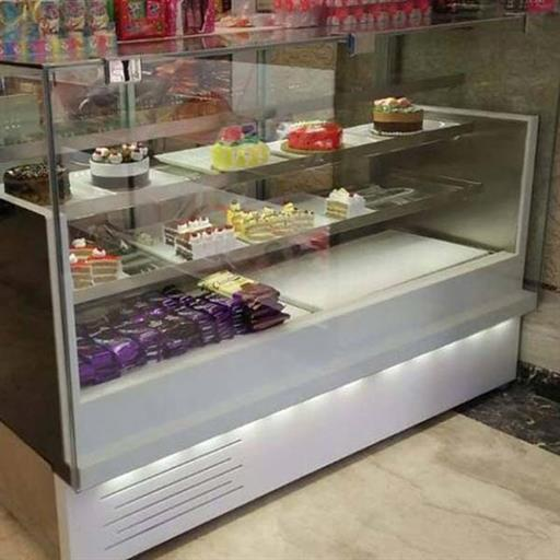 Rectangular Cake Display Counter