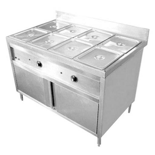 Silver Stainless Steel Commercial Bain Marie