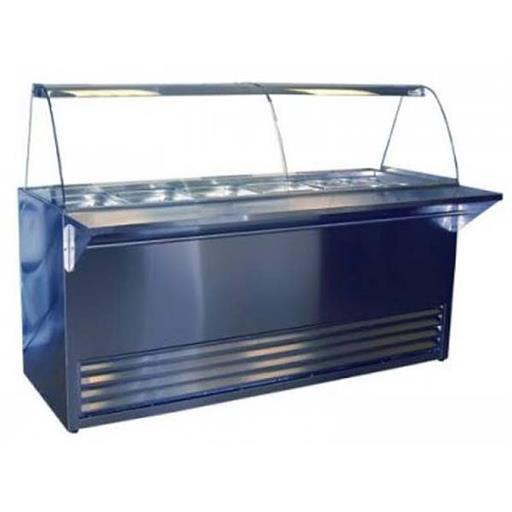 Silver SS Display Bain Marie
