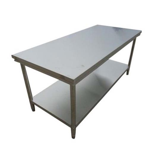 SS Silver Stainless Steel Table
