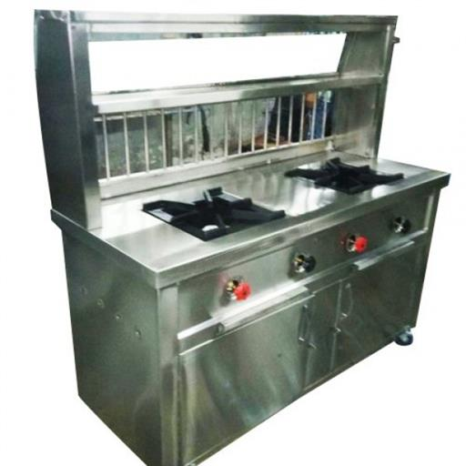 2 Burner Gas Counter