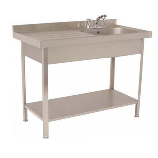 Single Sink Unit with Working Table