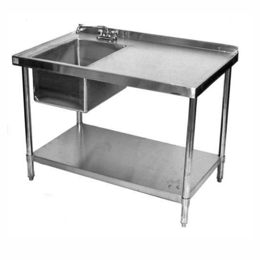 SS Working Work Table Sink