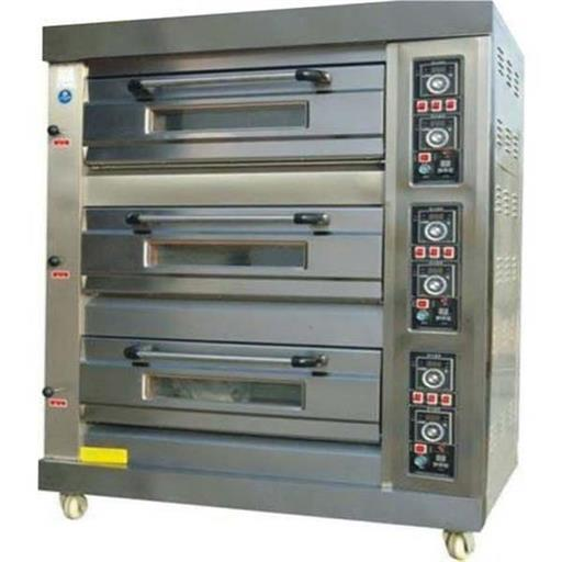 Portable Three Deck Oven