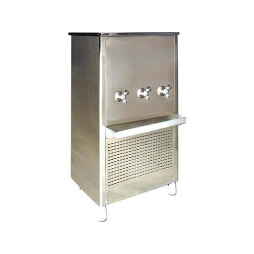 Silver Stainless Steel Water Cooler