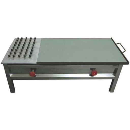 Stainless Steel Commercial Puffer Plate for Catering