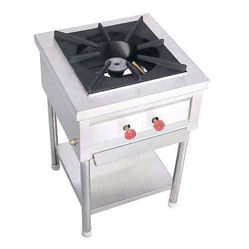 Stainless Steel Stock Pot Gas Stove