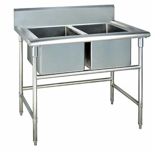 Commercial Table With Sink