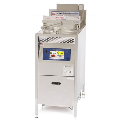 Pressure Fryer Gas