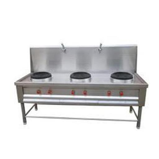 Stainless Steel Three Burner