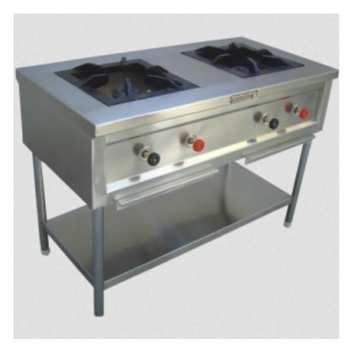 Cooking Range 2 Burner Indian