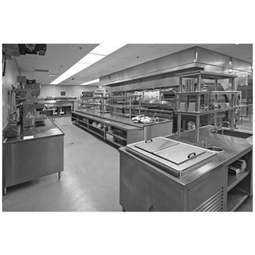 Silver Stainless Steel Commercial Kitchen Equipment