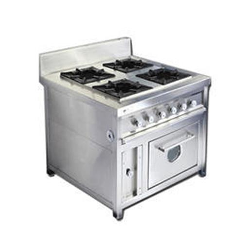 Four Burner Continental Range With Oven