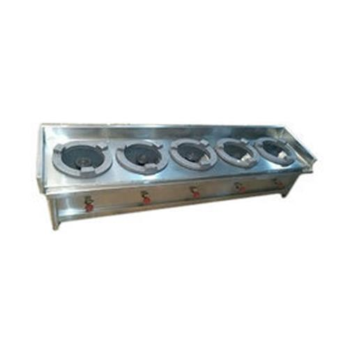 Five Burner Cooking Range