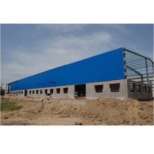 Steel Hot Rolled Pre Engineered Warehouse Building