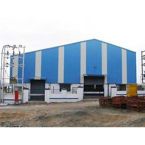Mild steel Prefab Prefabricated Factory Shed