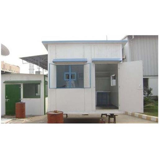 Mild Steel Rectangular Modular Portable Cabin