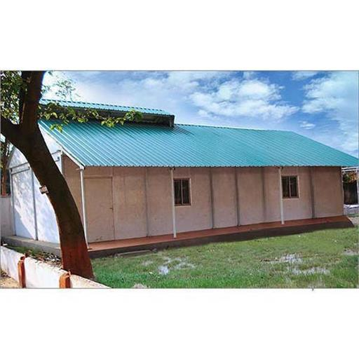 Steel Prefabricated Army Shelter