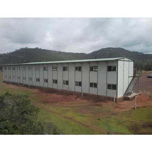 Prefab Modular Steel Prefabricated Labour Hutment