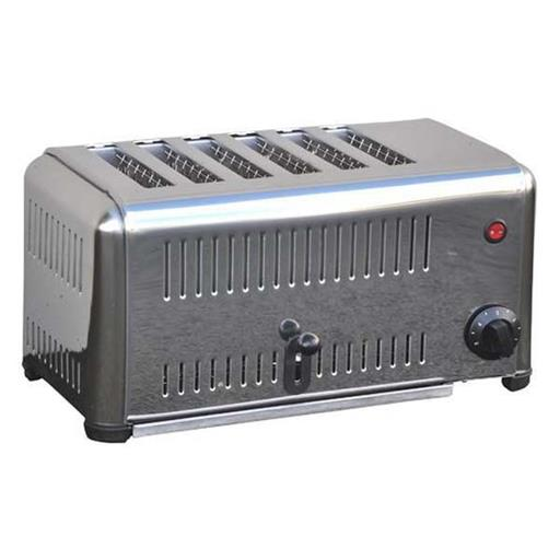 6 Slice Commercial Toaster