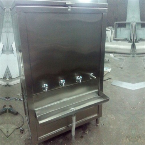 Stainless Steel Inbuilt RO Water Cooler, Cooling Capacity: 60, 2