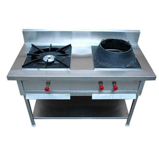 Double Burner Cooking Range Indian With Chinise