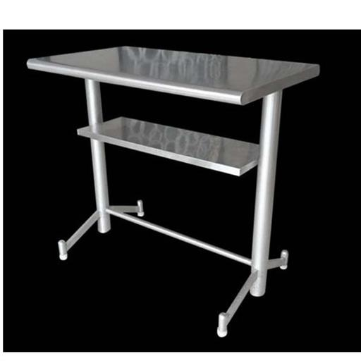 SKCE Polished SS Rectangular Standing Eating Table