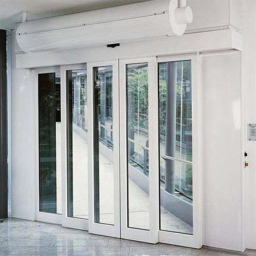UPVC and Glass White Insulated Sliding Door