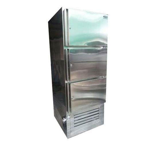 Commercial Vertical 3 Door SS Freezer
