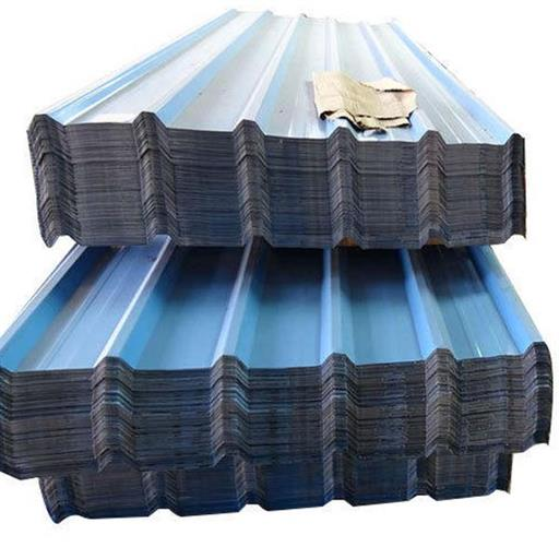 Blue Galvanised Coated Roofing Sheet