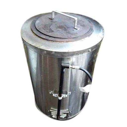 Metal Chrome Gas Tandoor