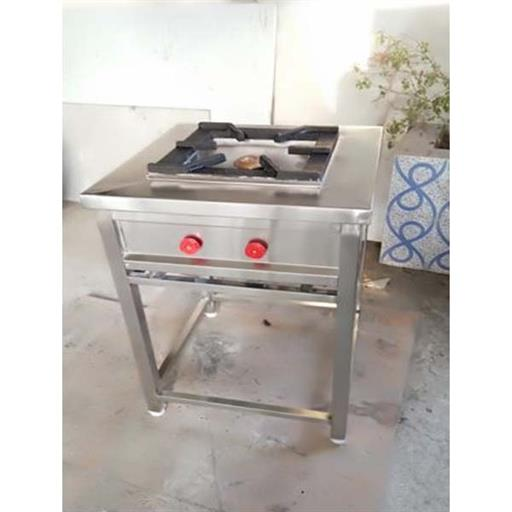Stainless Steel Cooking Range For Hotel