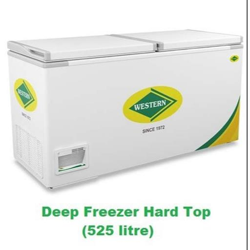 White Hard Top Deep Freezer(WHF525H), Capacity: 525 L