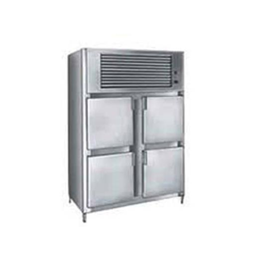 4 Door Vertical Refrigerator, Electric