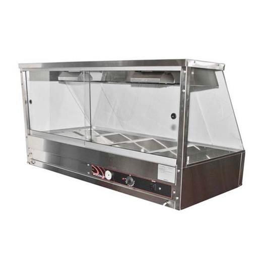 Bain Marie With Straight Glass
