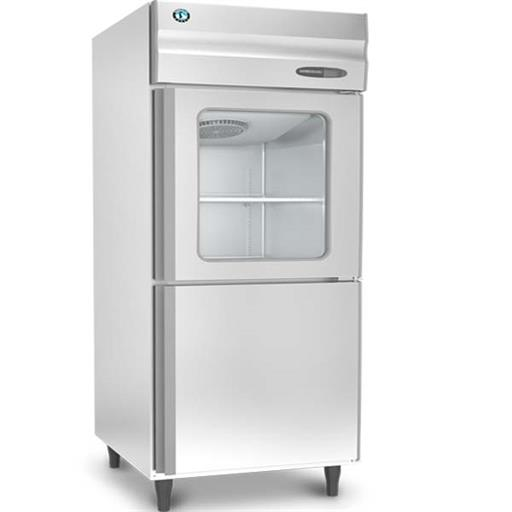 SS Vertical Refrigerator HRW-77MS4-HG Half Glass Door