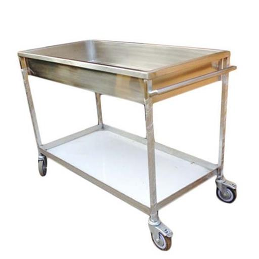 Stainless Steel Soil Dish Trolley