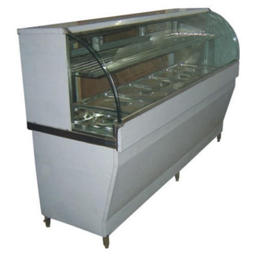 Stainless Steel Metallic Silver Cold Golgappa Counter