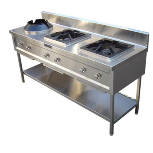 Stainless Steel 3 Cooking Gas Stove