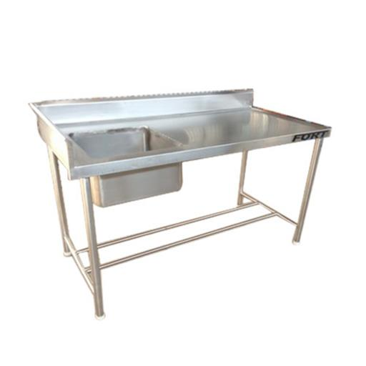 Stainless Steel Table Sink, Shape Rectangular
