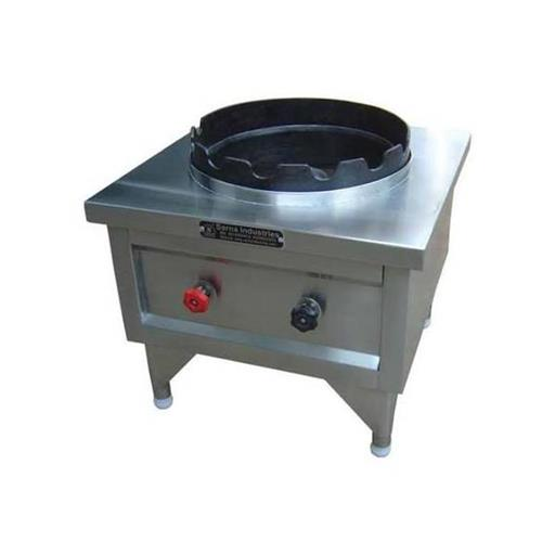 Stainless Steel SS Commercial Single Burner Gas Stove