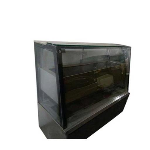 SS And Glass Pastry Display Counter, Warranty: 1 Year, for Restaurant