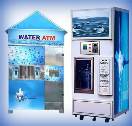 Water Atm Vending Machines With RO Plants