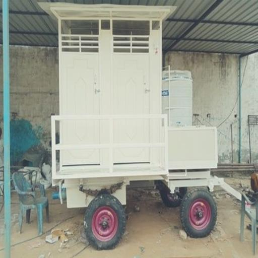 4- SEATER  TOILET TROLLEY