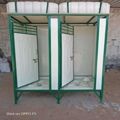 2 seater portable toilet